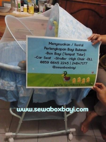 Pesanan Ibu Nuke Slipi Sewa Box Bayi Pliko Bed