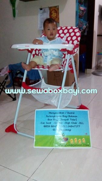 sewa high chair prita BSD