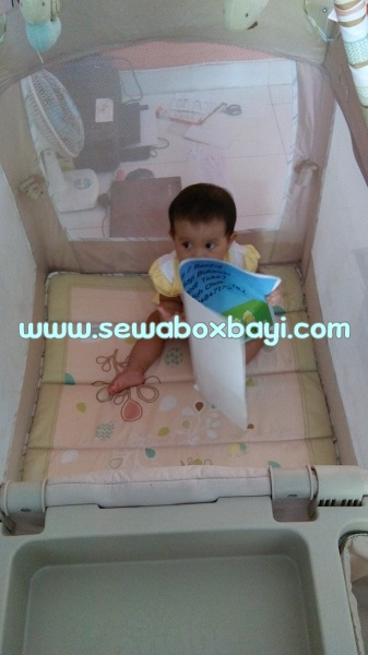 sewa box bayi bright starts serpong terrace