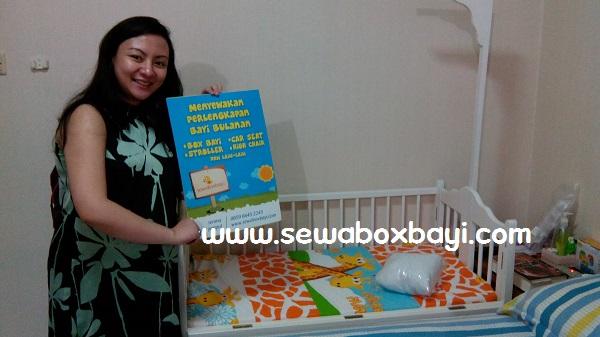 Grace komplek BPK kebon jeruk sewa box bayi kayu