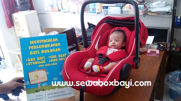 amalia petukangan rental car seat carrier bayi