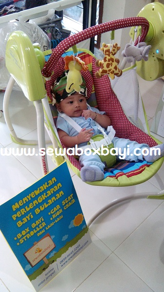 rental swing baby lina perum legok karawaci