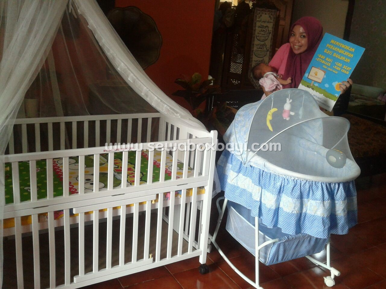 rizky perumnas tangerang sewa perlengkapan bayi