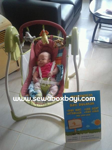 sewa baby swing anita sangiyang tangerang