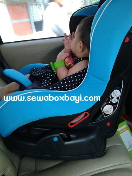 sewa car seat melanie gading serpong