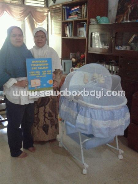 suryani puspitek rental tempat tidur bayi kecil basinet